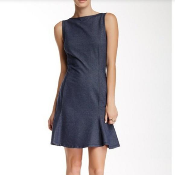 de104c02f2 Love Moschino Dresses & Skirts - Love Moschino dress - denim blue cotton  stretch, ...